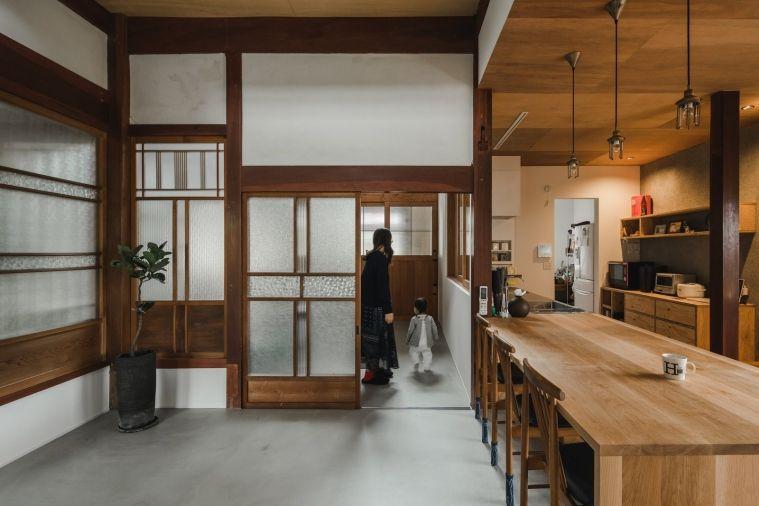 Une Maison Traditionnelle Japonaise Renovee Maison Traditionnelle Maison Traditionnelle Japonaise Maison Moderne Japonaise