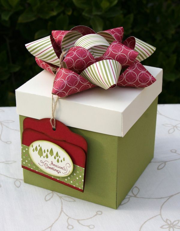 It's never too late for Christmas   Diy gift box, Gift card boxes, Christmas gift wrapping