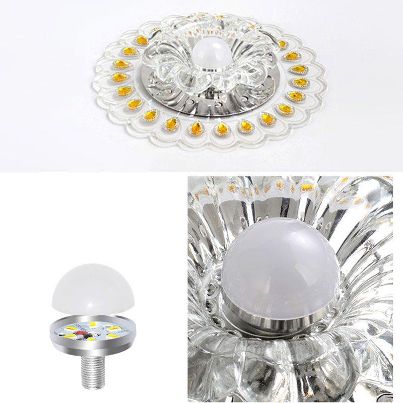 Plafonnier Lampe Pfauenlicht