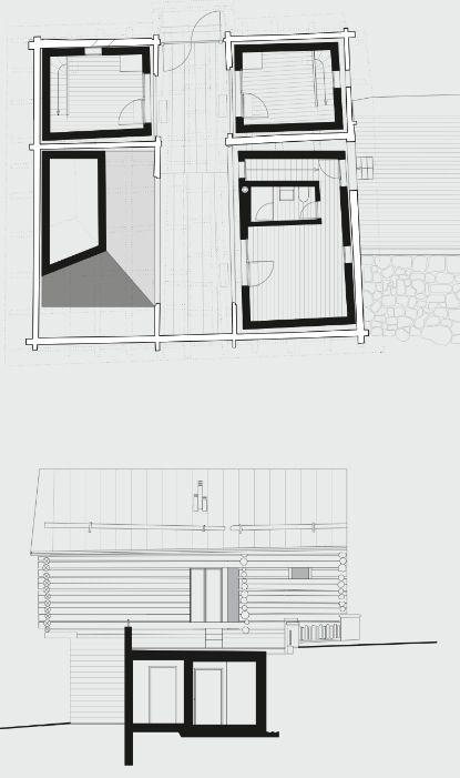 Awesome hans jorge ruch da un fienile una casa planimetria - Software planimetria casa ...