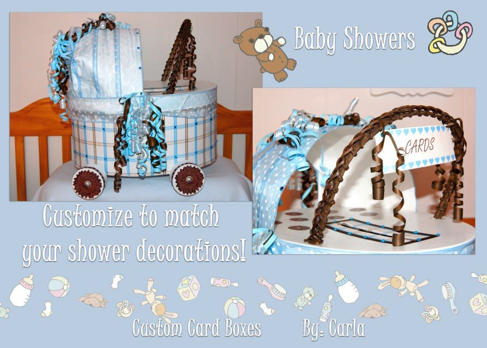Baby shower card box baby shower card box custom card