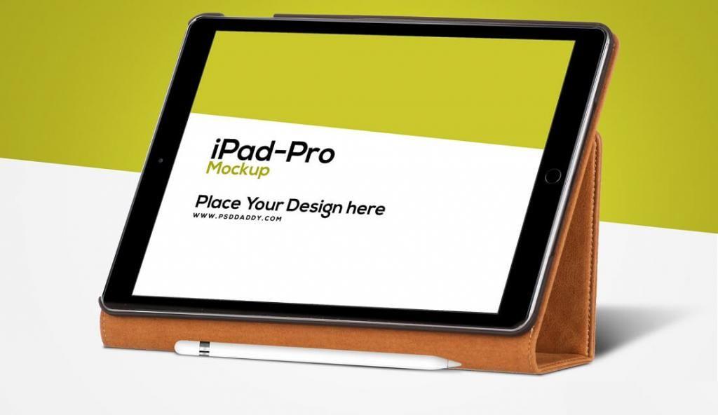 Ipad Pro Mockup Free Psd Ipad Mockup Psd Ipad Ipad Pro