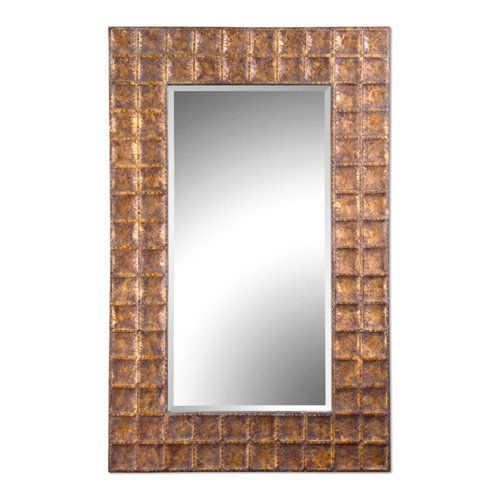 Have to have it. Uttermost Gavino Beveled Mirror - 42W x 67H in. - $492.8 @hayneedle.com