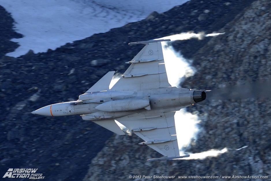 Saab JAS 39E Gripen - Royal Swedish Air Force  Axalp airshow