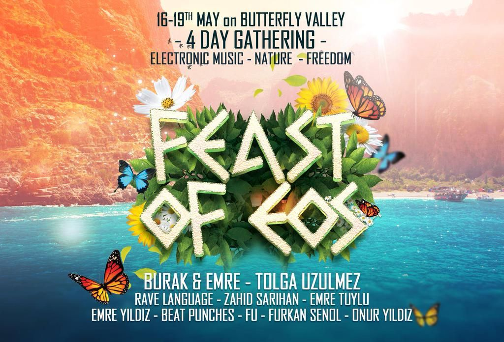 Are You Ready For The Party 4 Day Gathering In Butterfly Valley On May 16 19 Rave Eat Sleep Rave Holiday Travel Tour Guide Tolga