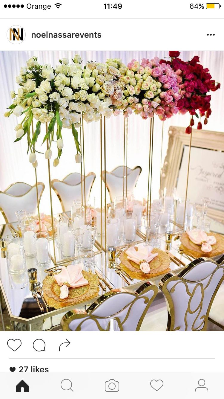 Pin by Magalie Leger on Glamour -N- Luxury Wedding Centerpieces ...