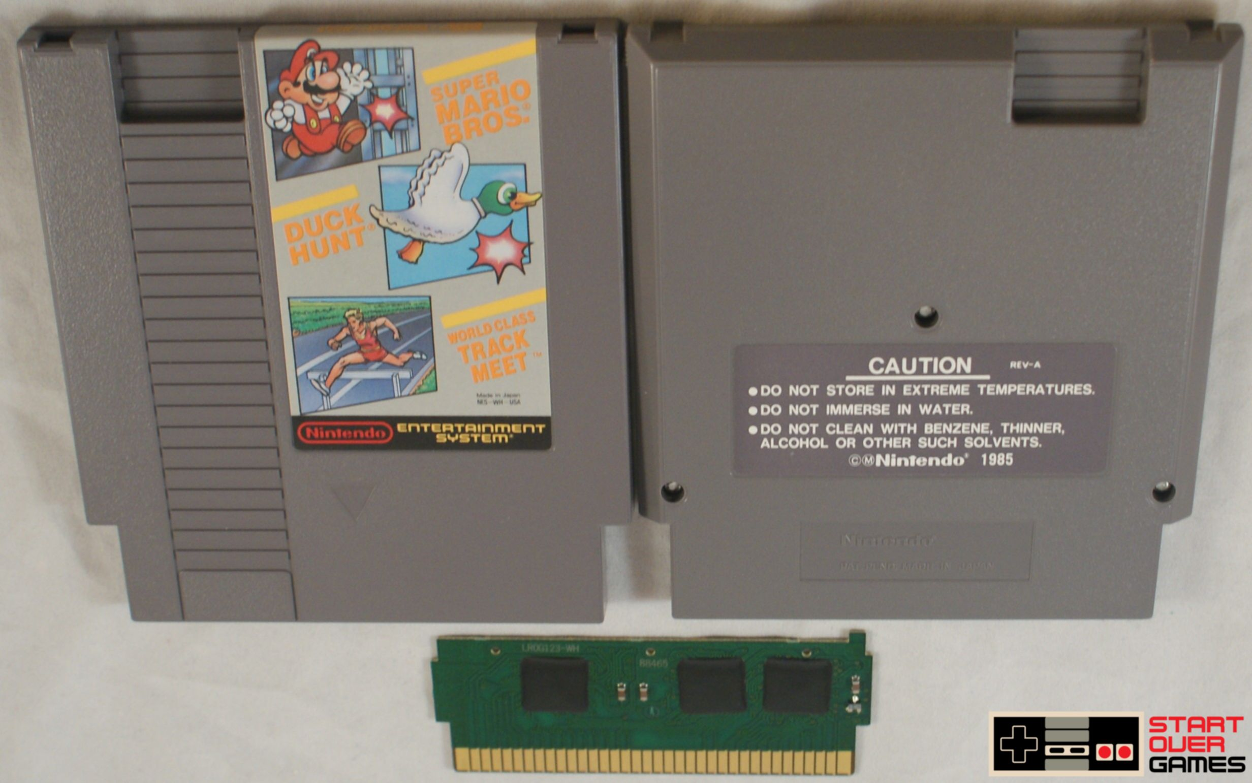 Super Mario Bros Duck Hunt World Class Track for the Nintendo