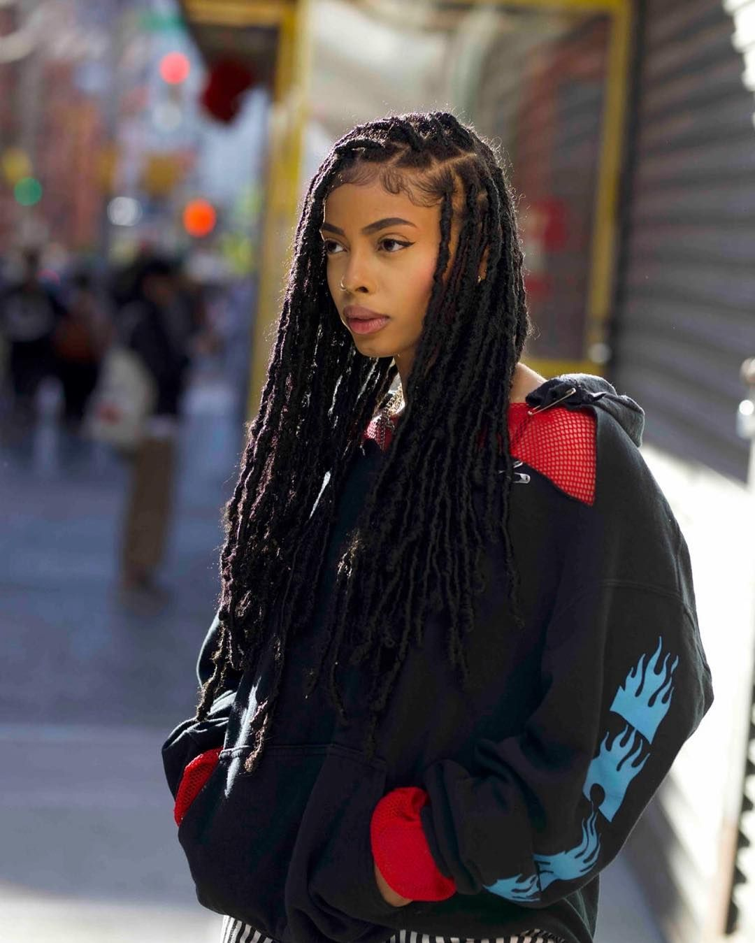 Dreadlocks Or Dreads Or Locks Can Be Thought Of As Hair In Its Utmost Natural State Which Is Why Severa Natural Hair Styles Hair Styles Faux Locs Hairstyles