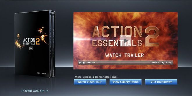 Video Copilot Action Movie Essentials 2 free download (2K