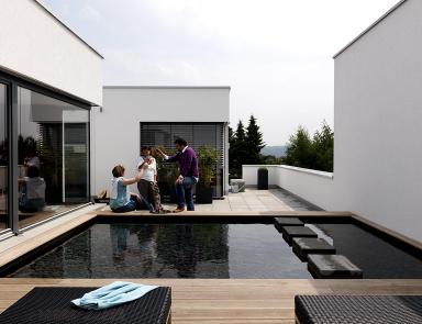 Möbel für die Dachterrasse: Ein Dachgarten auf der Terrasse ...