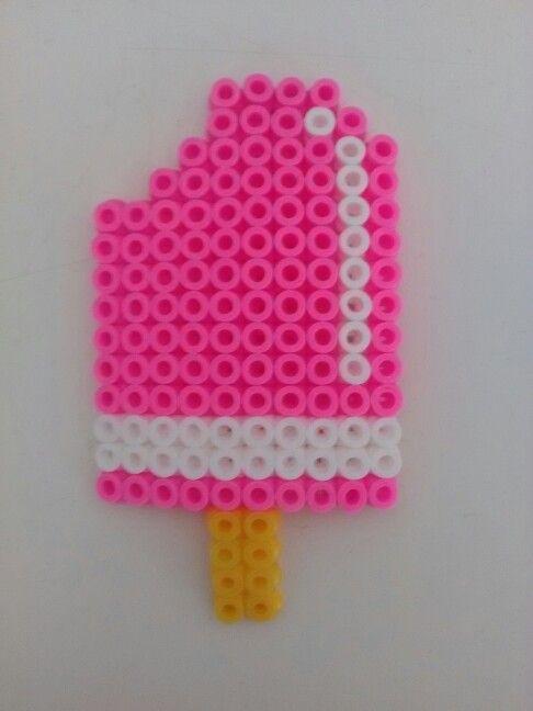 Free Kawaii Ice Cream Perler Hama Bead Pattern Or Cross Stitch