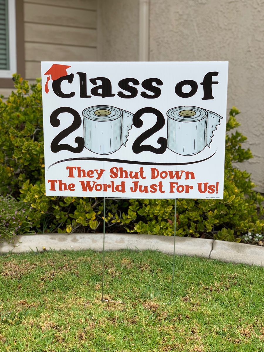 Class of 2020 Yard Signs