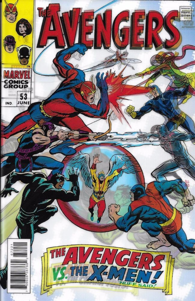 Marvel Avengers Comic Issue 672 Limited Lenticular Variant The Colour Of Magic Comic Poster Marvel Comic Books