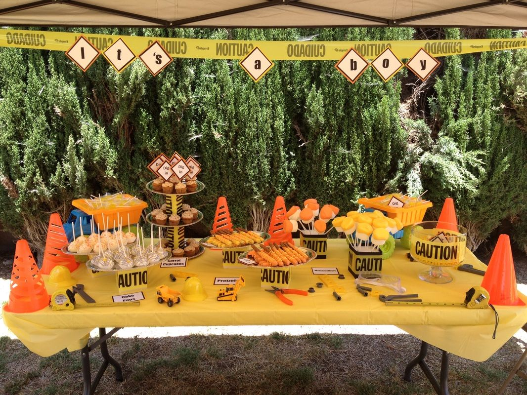 Under Construction Baby Shower Theme   Candy/Dessert Tables   Sweet  Creations By Gaby