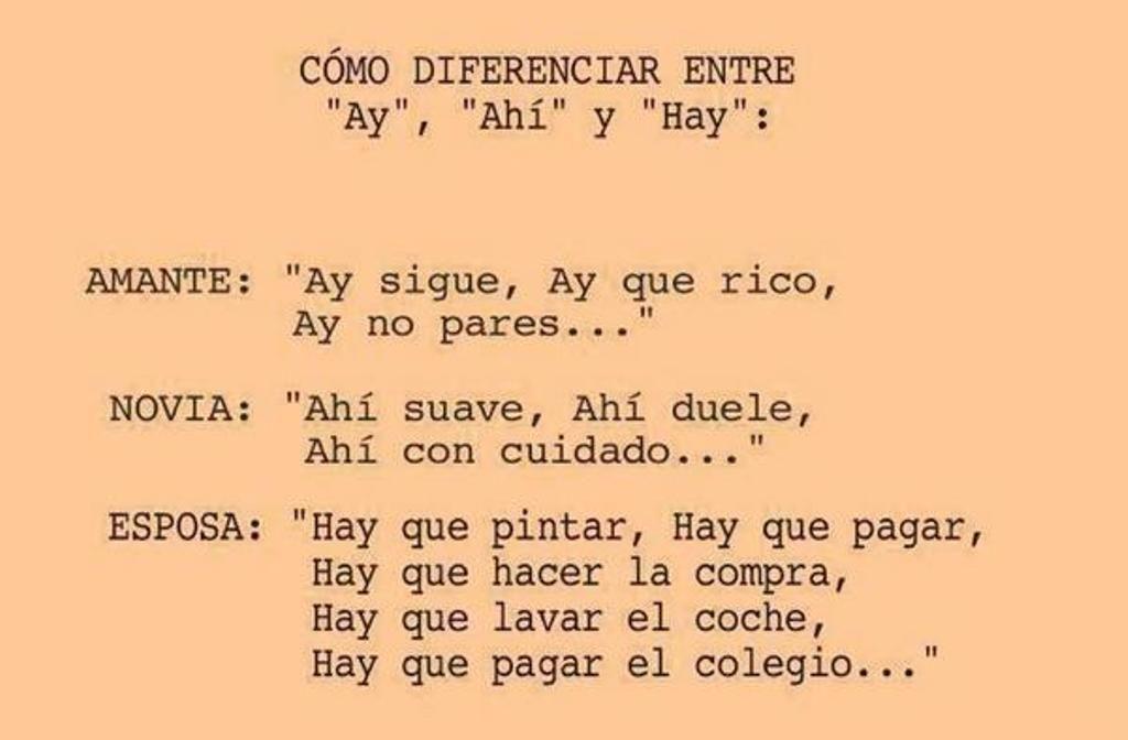 Cómo Diferenciar Entre Ay Ahí Y Hay Gracias A 0rtografia Ortografía Tecnicas De Aprendizaje Aprender Ortografia