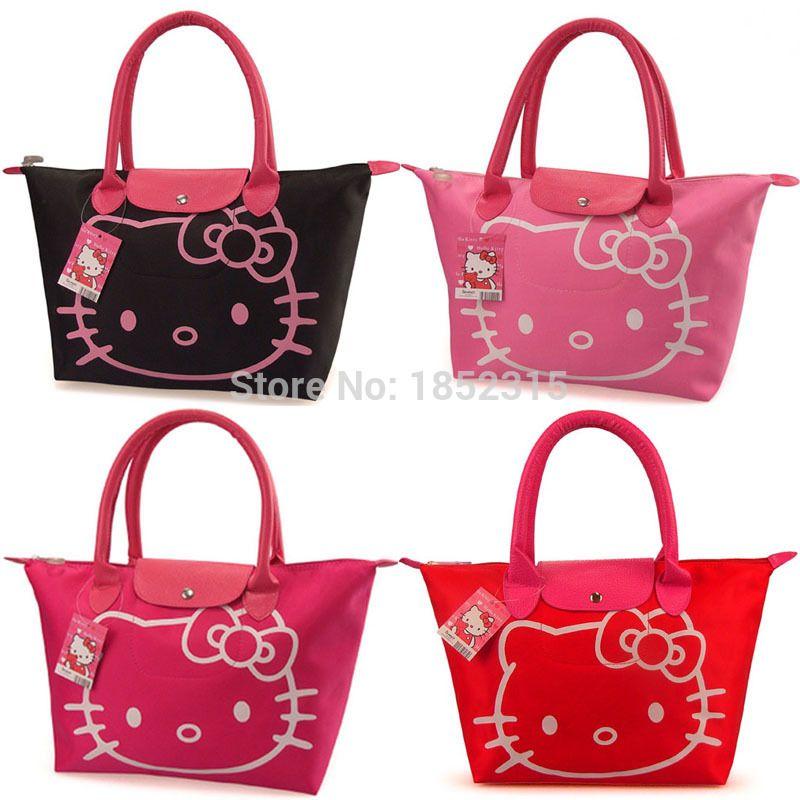 Aliexpress.com   Buy 2015 Desigual Hello Kitty Bag wholesale Shopping Bags  Waterproof Shoulder Bag Mochilas Bolsa Feminina Dollar Price from Reliable  bag of ... 6156ea8e5988c