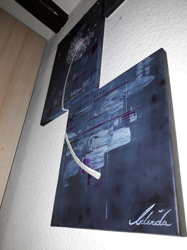 Art Gemälde Blowball Abstrakt