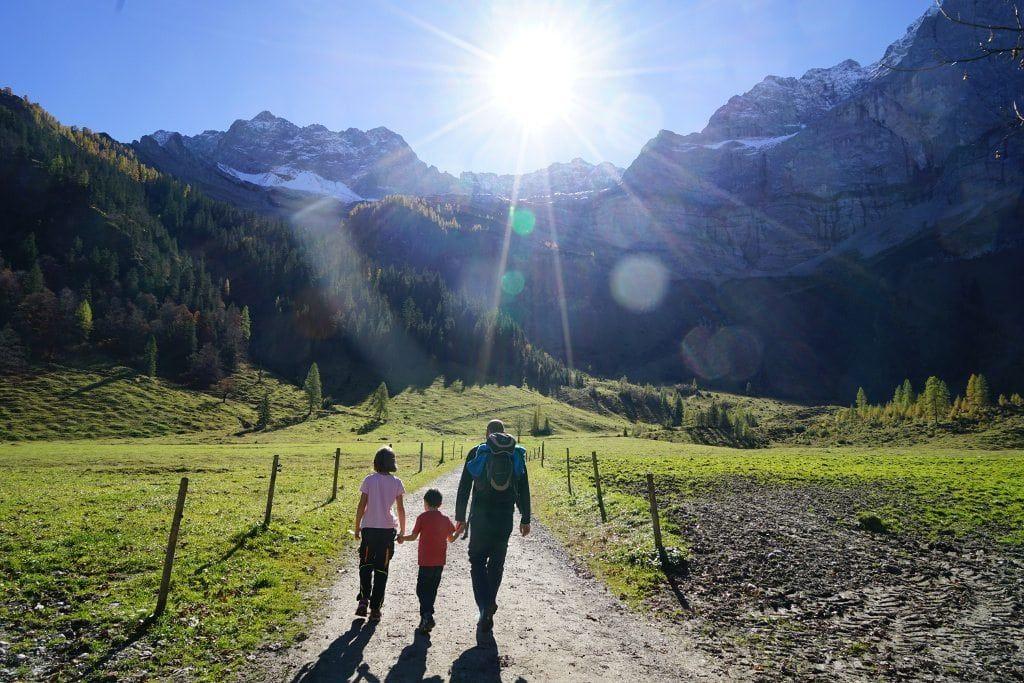 Grosser Ahornboden Im Naturpark Karwendel In Tirol Karwendel