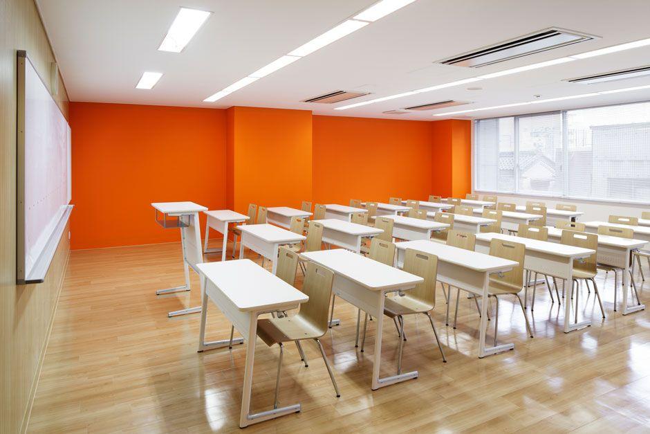Elegant Colourful School In Japan