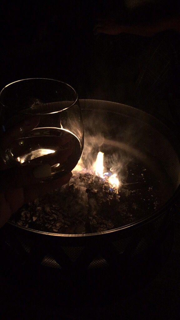 Adagio #Sauvignon Blanc by the fire.