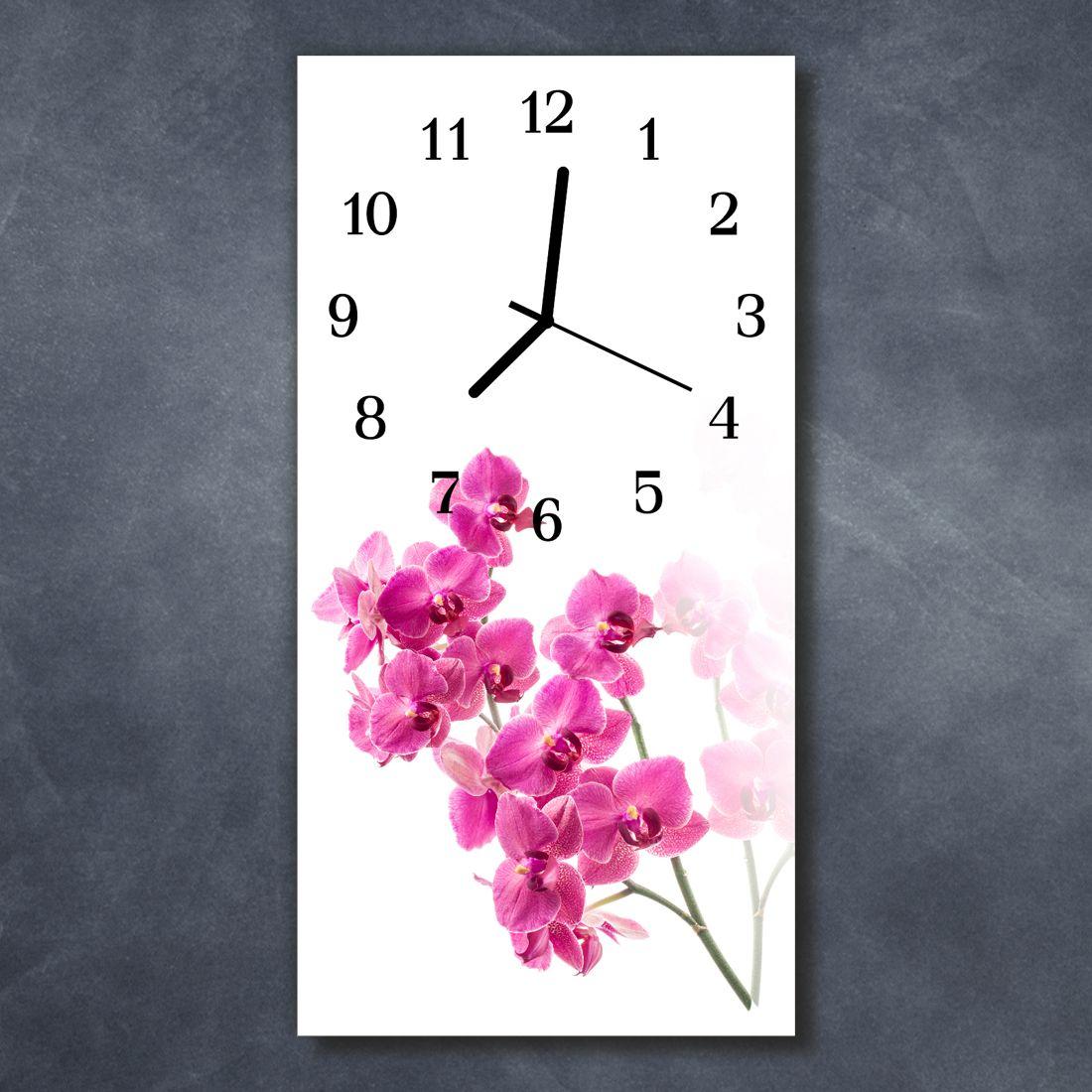 #wallclock #glass #glassclock #walldecor #forspring #springdecor #interiors #interioires #pink #pinkfloral #floralpattern #florallovers #homedecorlovers
