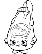 Tommy Ketchup Shopkin Coloring Page Shopkins Colouring Pages Shopkin Coloring Pages Shopkins Coloring Pages Free Printable