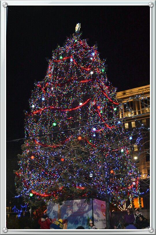 Cleveland Tree Lighting Winterfest