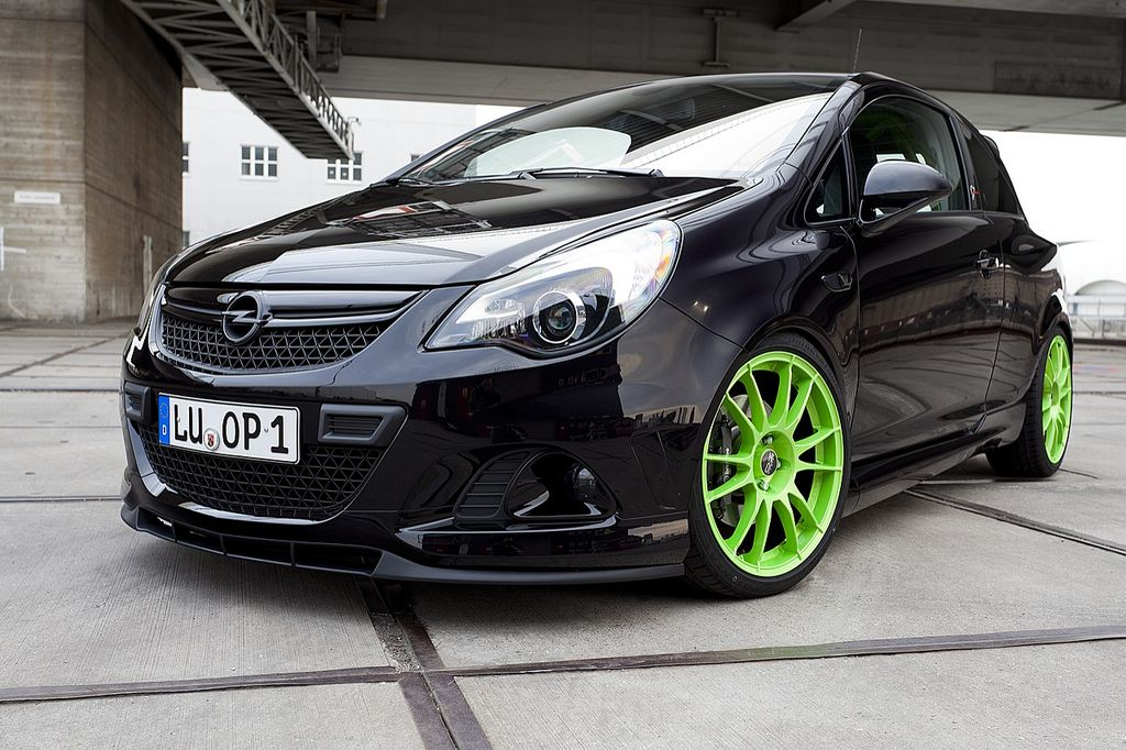 Opel Corsa Opc Nürburgring Edition Street Racing Cars
