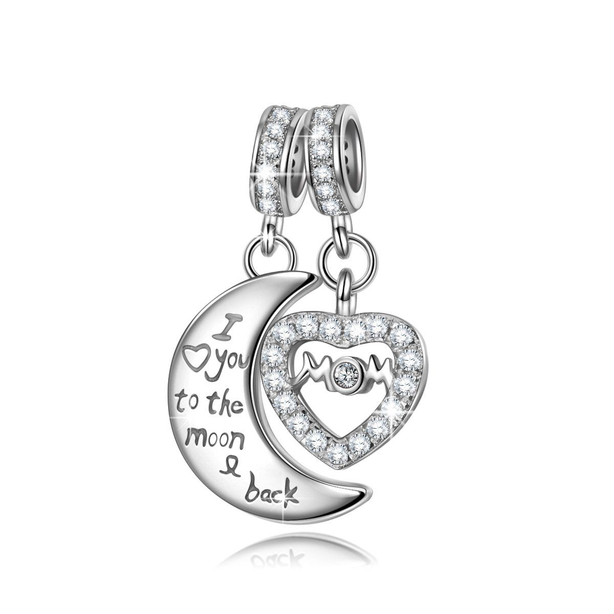 NINAQUEEN - Treasure Box - 925 Sterling Silver Charms Nickel-free 6CRKkmaVT4