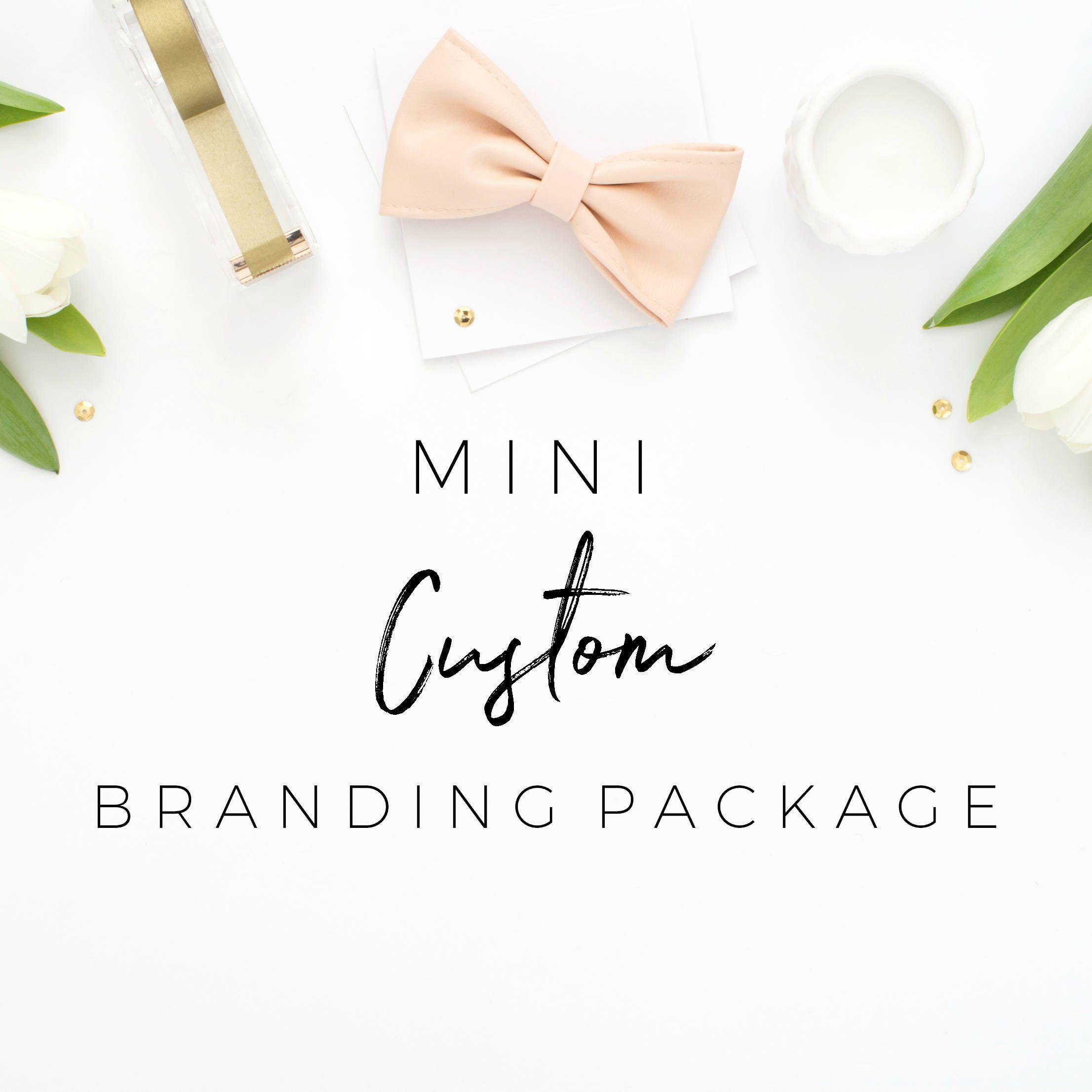 Custom Branding Package Mini Brand Package Logo Design Custom