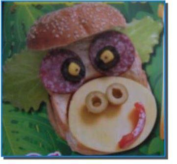 Funny sandwiches «MONKEY»