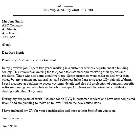Cv Cover Letter Examples  HttpWwwResumecareerInfoCvCover