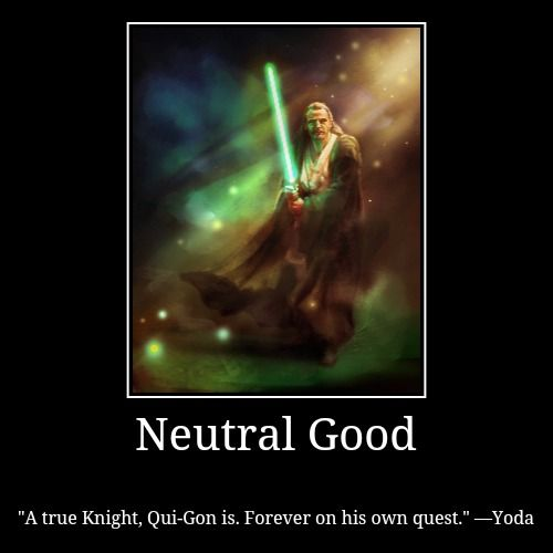 Qui Gon Jinn Quotes Qui Gon Jinn Neutral Good Neutral