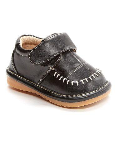 Love this Black Squeaker Leather Dress Shoe on #zulily! #zulilyfinds