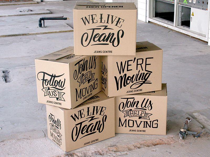 Custom handlettering boxes by bijdevleetTwitter    Source
