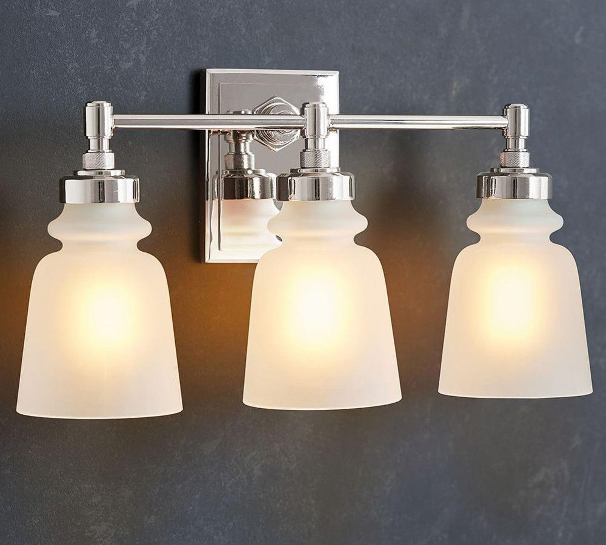 Benchwright Triple Sconce Pottery Barn CA Sconces
