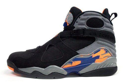 Jordan Shoes Retro 8 Nike Mens Air Jordan 8 Retro Basketball Shoes