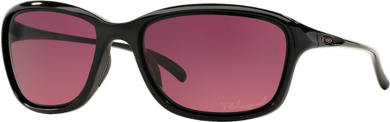 3cc98dddd0 Oakley Women s She s Unstoppable Polarized Sunglasses Black Rose Gold  Polarized