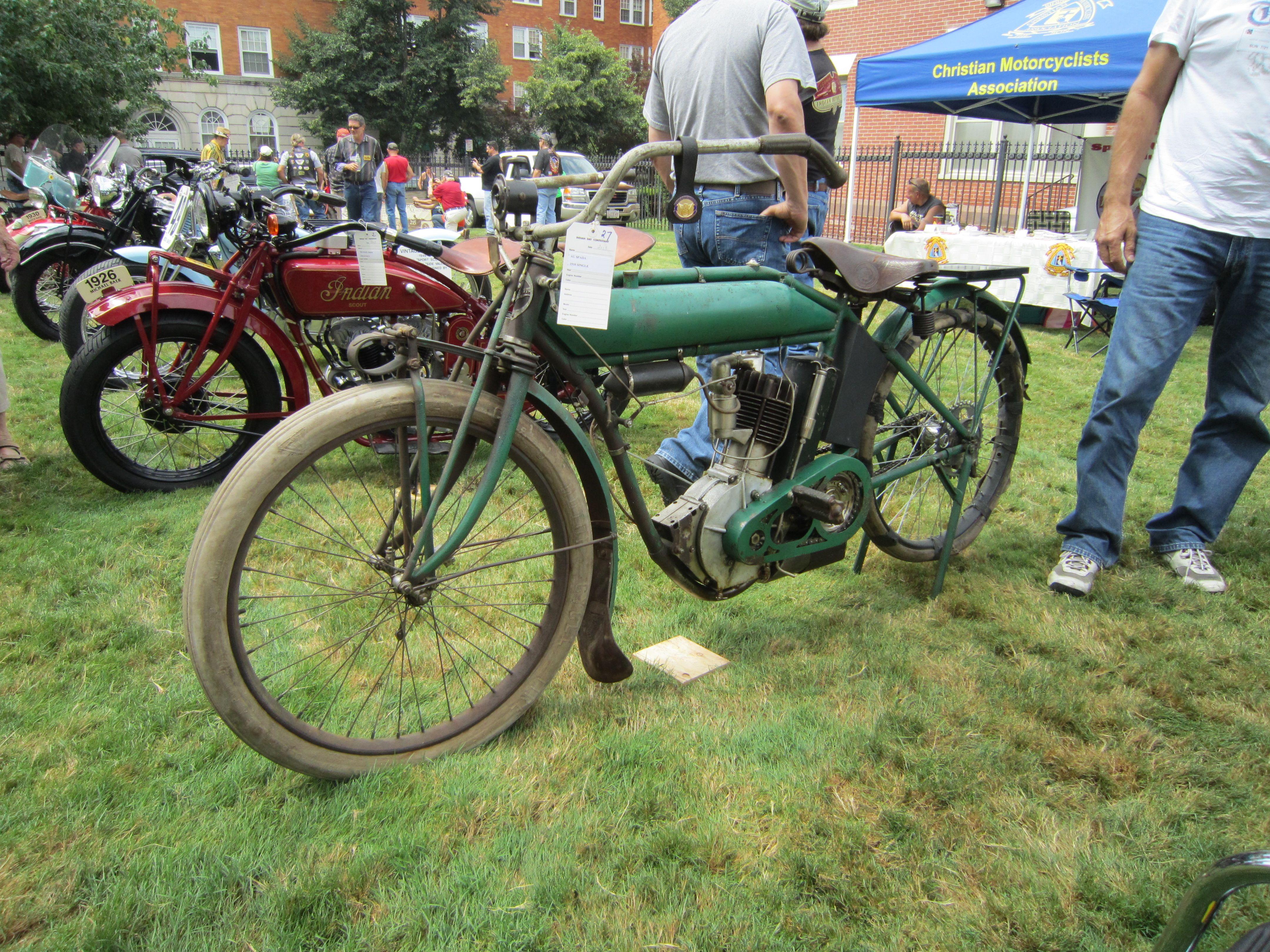 1910 Indian Single Indian Motocycle Day July 21 2013 Indian Motorcycle Vintage Indian Motorcycles Old School Bike