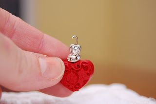 A Feathered Nest: Valentine Bead Danglies