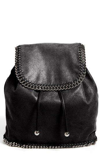 cfc2f6539510 Stella McCartney  Falabella - Shaggy Deer  Faux Leather Backpack available  at  Nordstrom