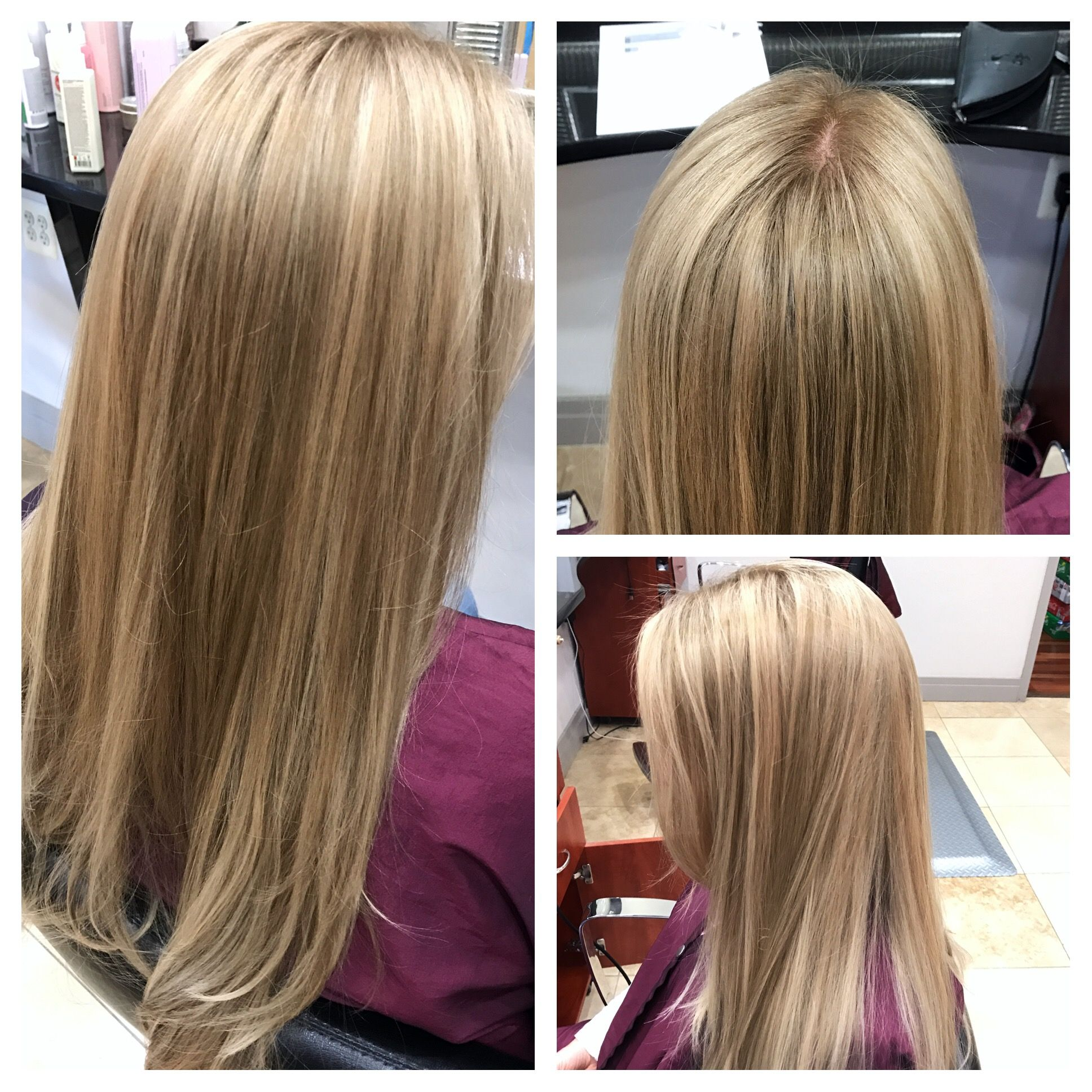 Get Rid Of That Yellow Blonde And Add Depth With A Simple Toner - The look hair salon