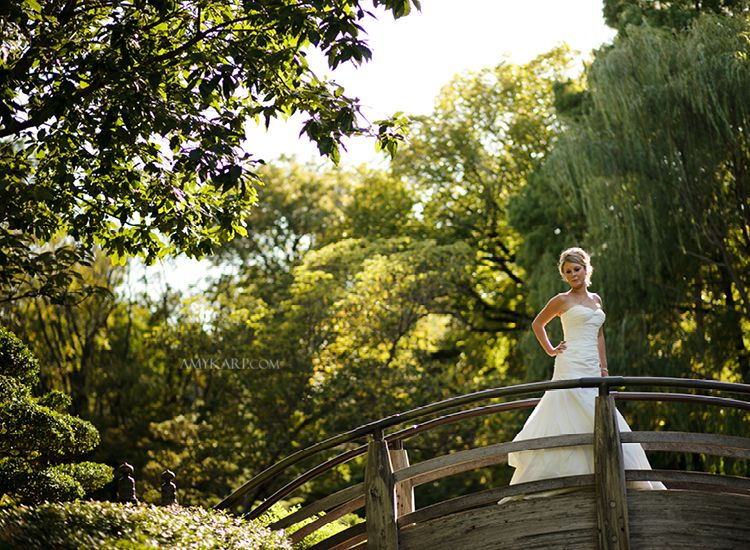 Fort Worth Botanical Gardens Wedding Bridals 3