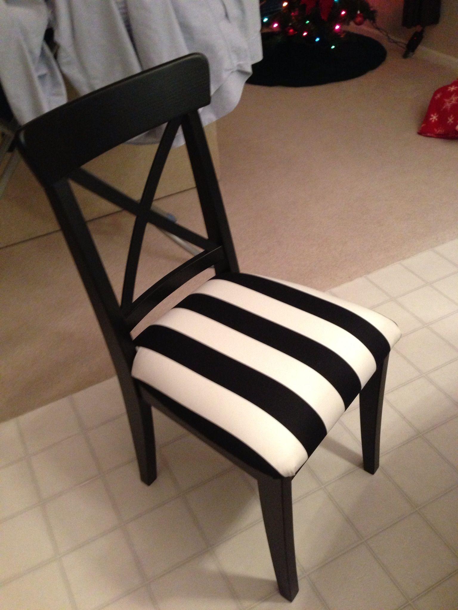 Ikea chair with a home made cushion. Ikea chair, Home, Chair