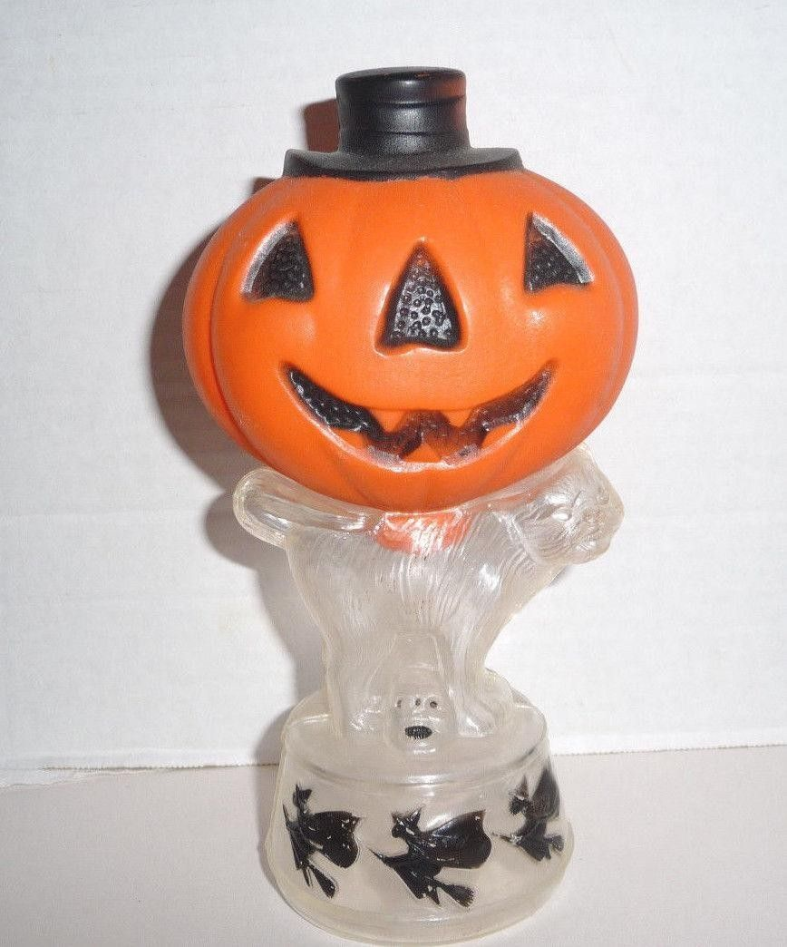 Antique German Halloween Witch Candy Container with