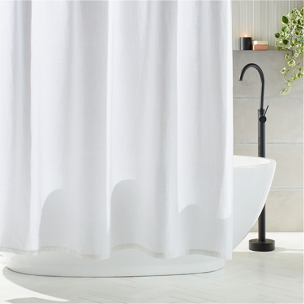 Unique and Modern Shower Curtains | CB2