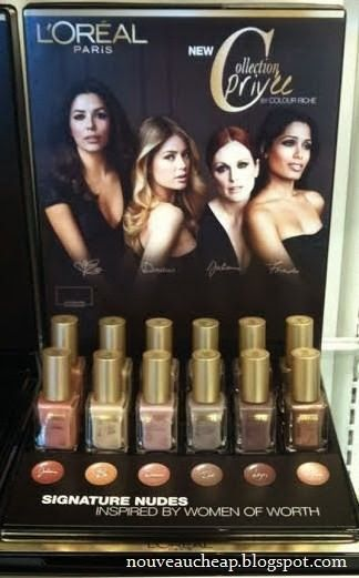 Spotted: L'Oreal Collection Privée by Colour Riche Nail Color Collection Rite Aid