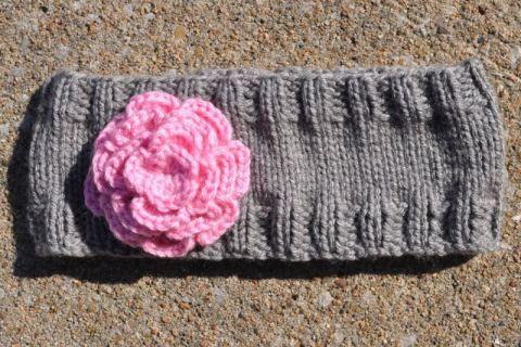 A Simple Headbandear Warmer Flat Knitting Version Knit Patterns