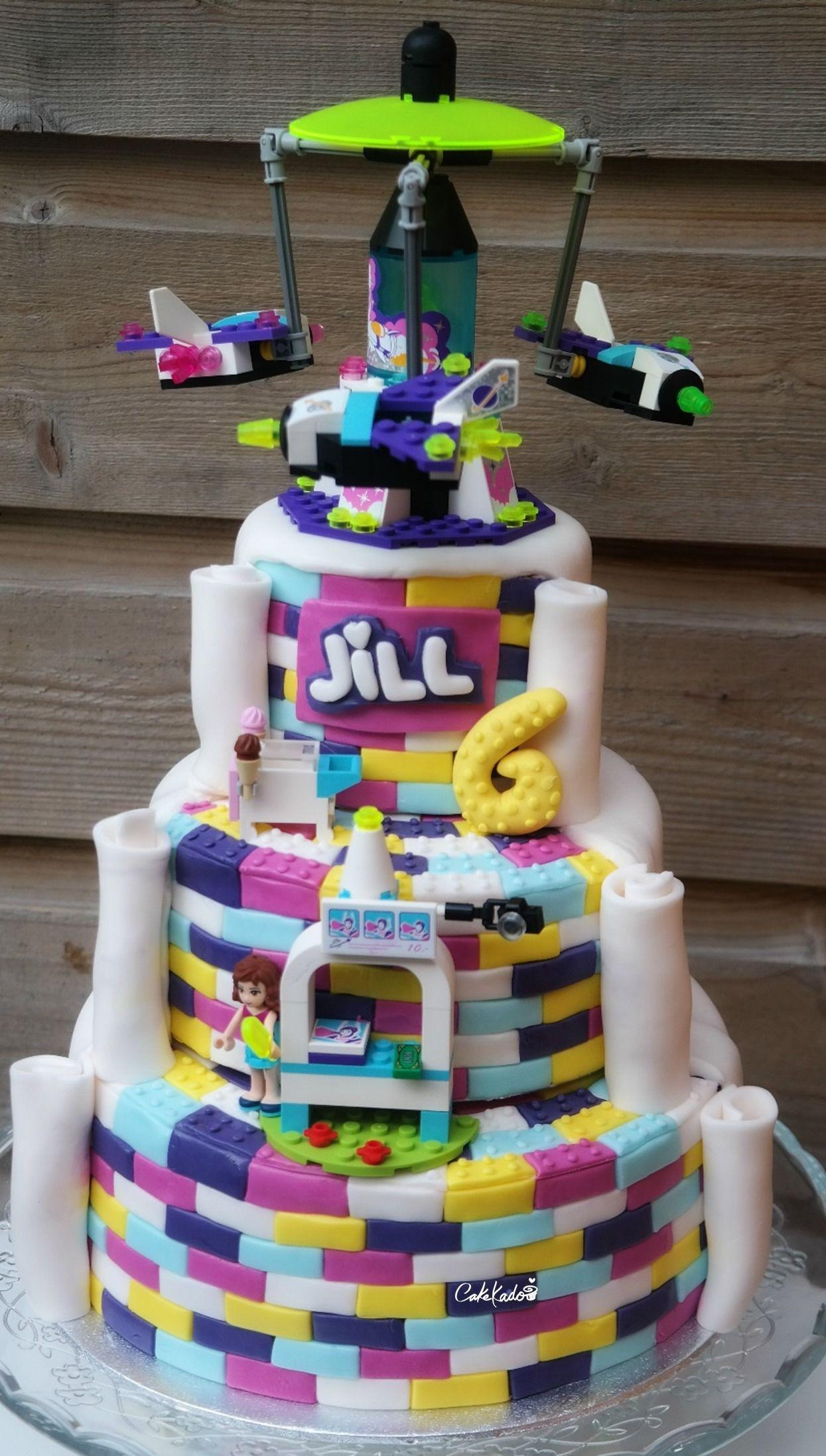 Lego Friends birthday cake Aurea Sweet Pinterest Friends