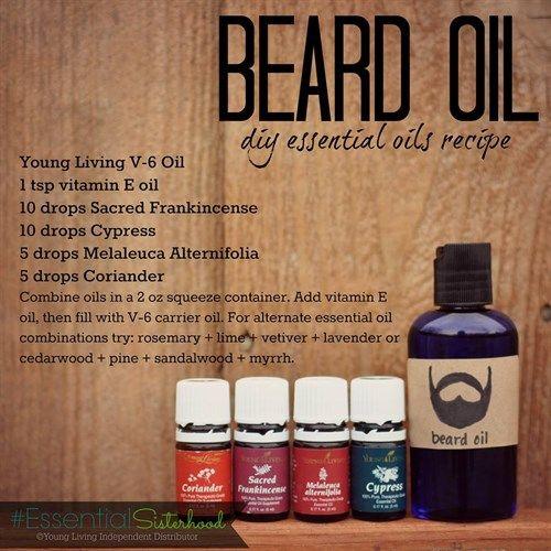 Diy Beard Oil Essential Oils